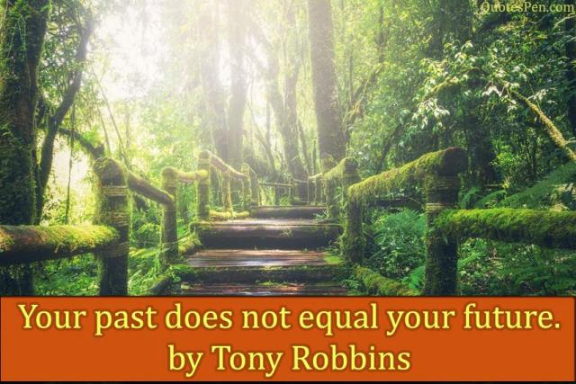 your-past-does-quote