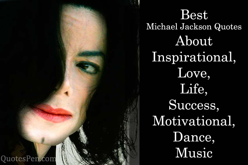 best-michael-jackson-quotes