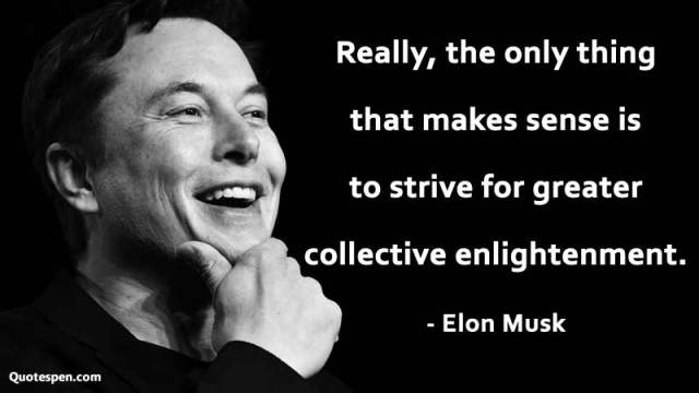 elon musk famous quote