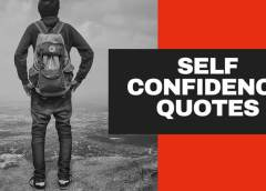Best Self Confidence Quotes and Sayings To Inspire You in English
