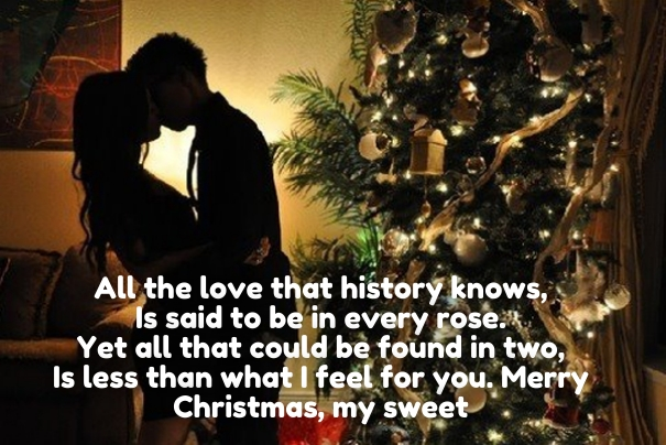 30 Romantic Happy New Year 2019 Wishes for Boyfriend   Happy New     Romantic Christmas Quotes