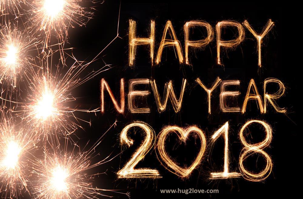 2018 romantic happy new year