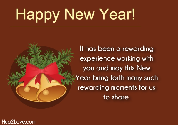 customer new year greetings