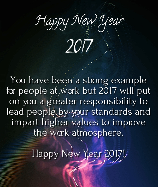 colleague new year wishes