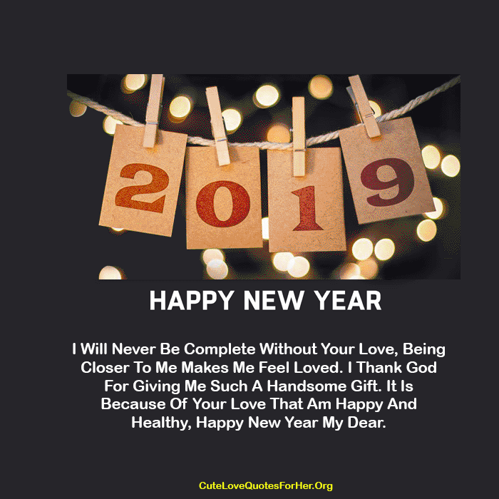50 Happy New Year 2019 Status Images For Instagram Happy