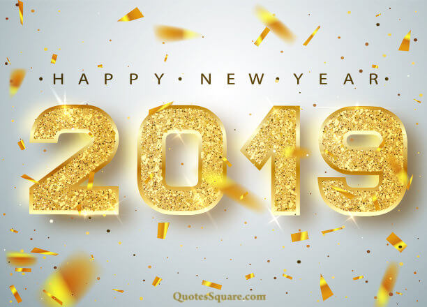 Happy New Year Monday December 31 2018