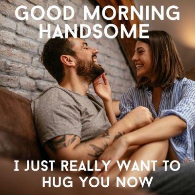 good morning meme cute for him