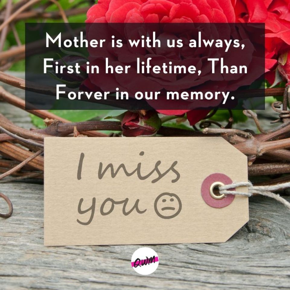 Heart-touching Death Anniversary Messages for Mother