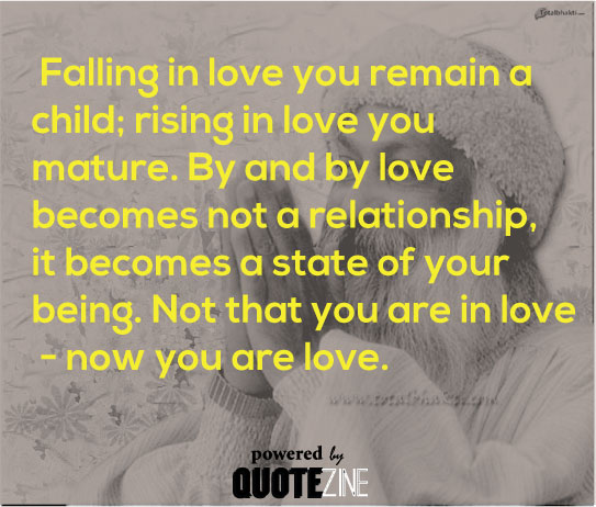 Quotes About Love Relationships: Osho Quotes: The 25 Best Sayings On Truth, Life & Love