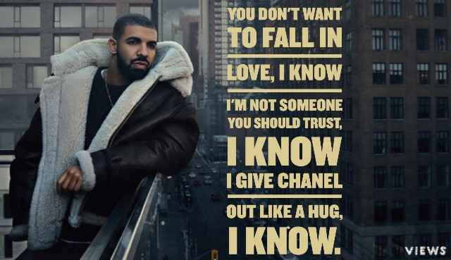 Drake Citater The Best Lyrics Og Lines Fra Views - Quotezine-4517