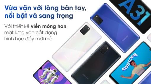 Ép, thay mặt kính cảm ứng Samsung Galaxy A31 giá tốt tại Nha Trang 1
