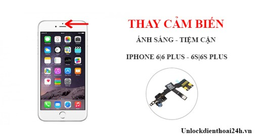 Sửa iPhone 6, 6Plus mất cảm biến Nha Trang 1