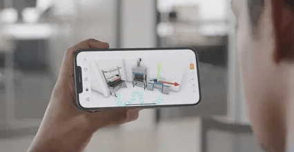 Augmented Reality in iphone 12 pro and mx