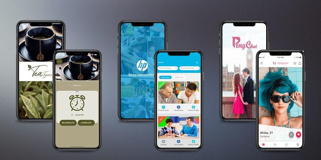 mobile app development portfolio