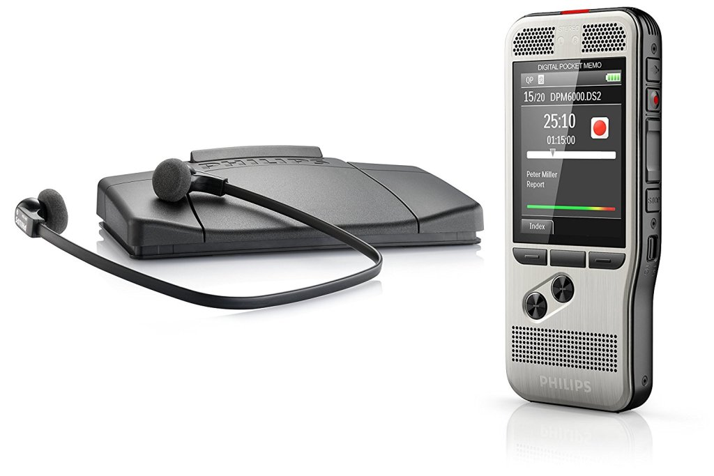 Philips PocketMemo DPM6700 Dictation & Transcription Set