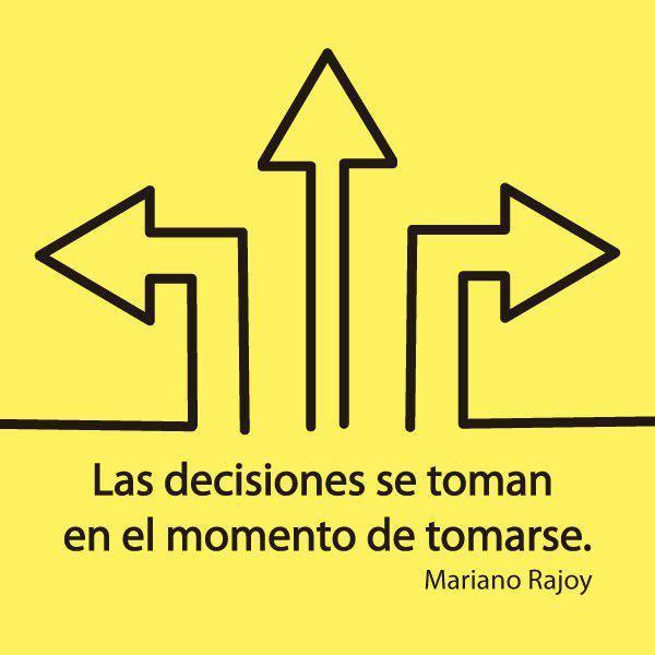 palabras de Rajoy