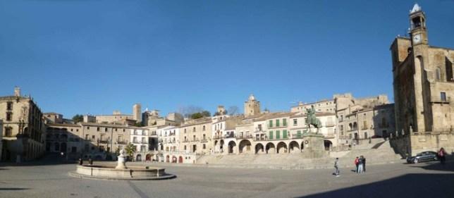 plaza mayor trujillo