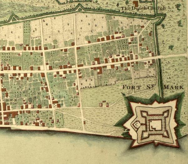mapa-antiguo-fuerte-san-marcos-florida