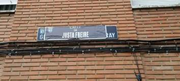 cambio nombre a la calle