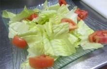 ensalada-tomate y lechuga