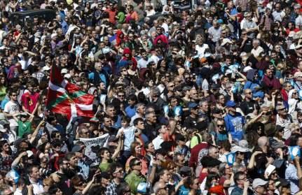 manifestacion euskadi