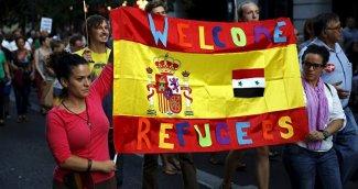 refugiados sirios en espana