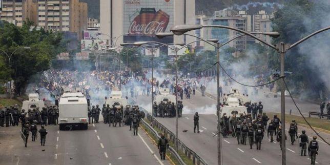 dispersion marcha venezuela