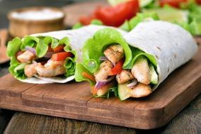 receta-sandwich-wrap-pollo-cesar