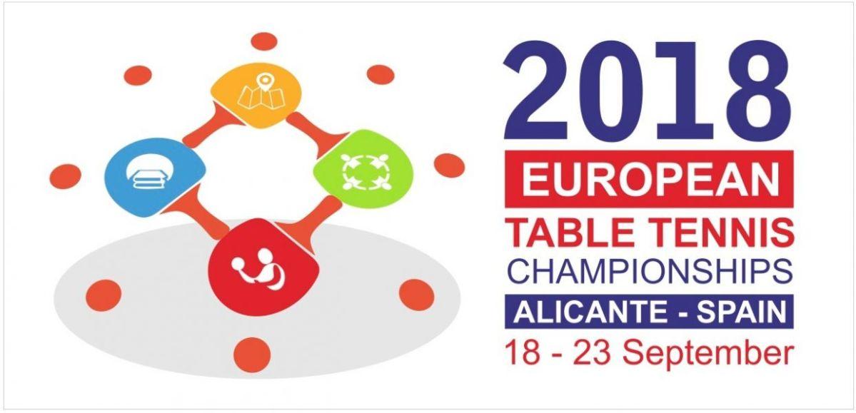 Campeonato de Europa de Tenis de Mesa en Alicante