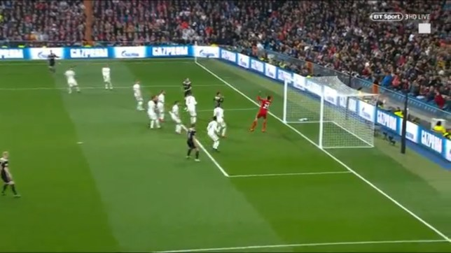 real madrid 1 ajax 4