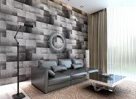 papel pared salon