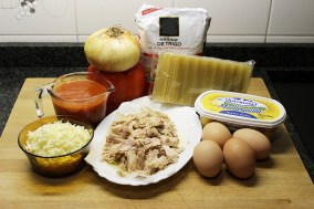 lasana de atun ingredientes