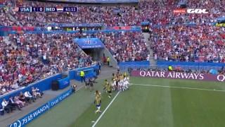 USA 1 Holanda 0