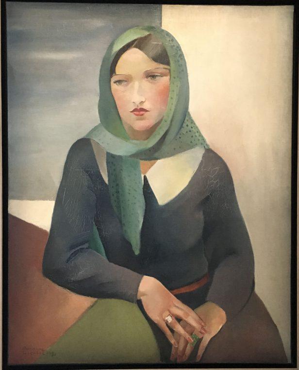 retrato de Marianne por dora maar 1927