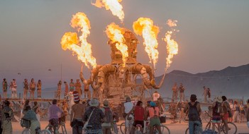 burning man artilugio fuego