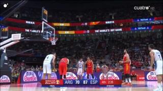 espana argentina ultimo cuarto