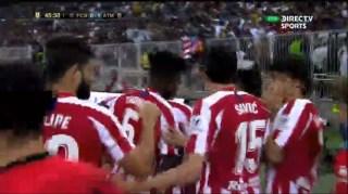 barça 0 Atletico 1