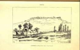 grabado castillo gormaz