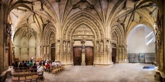 portico vitoria catedral