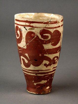 vaso de ceramica vidriada
