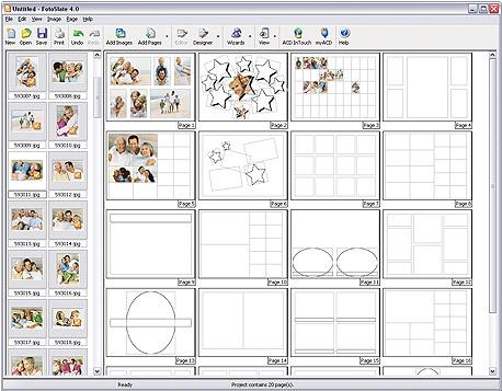 FotoSlate 4 Photo Print Studio 4.0 Free Download
