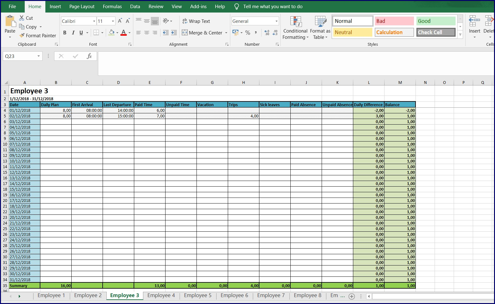 This construction timesheet template is free to use and makes completing and approving timesheets easier and more reliable. Monthly Timesheet Template