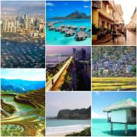 Top 10 most desired Destinations