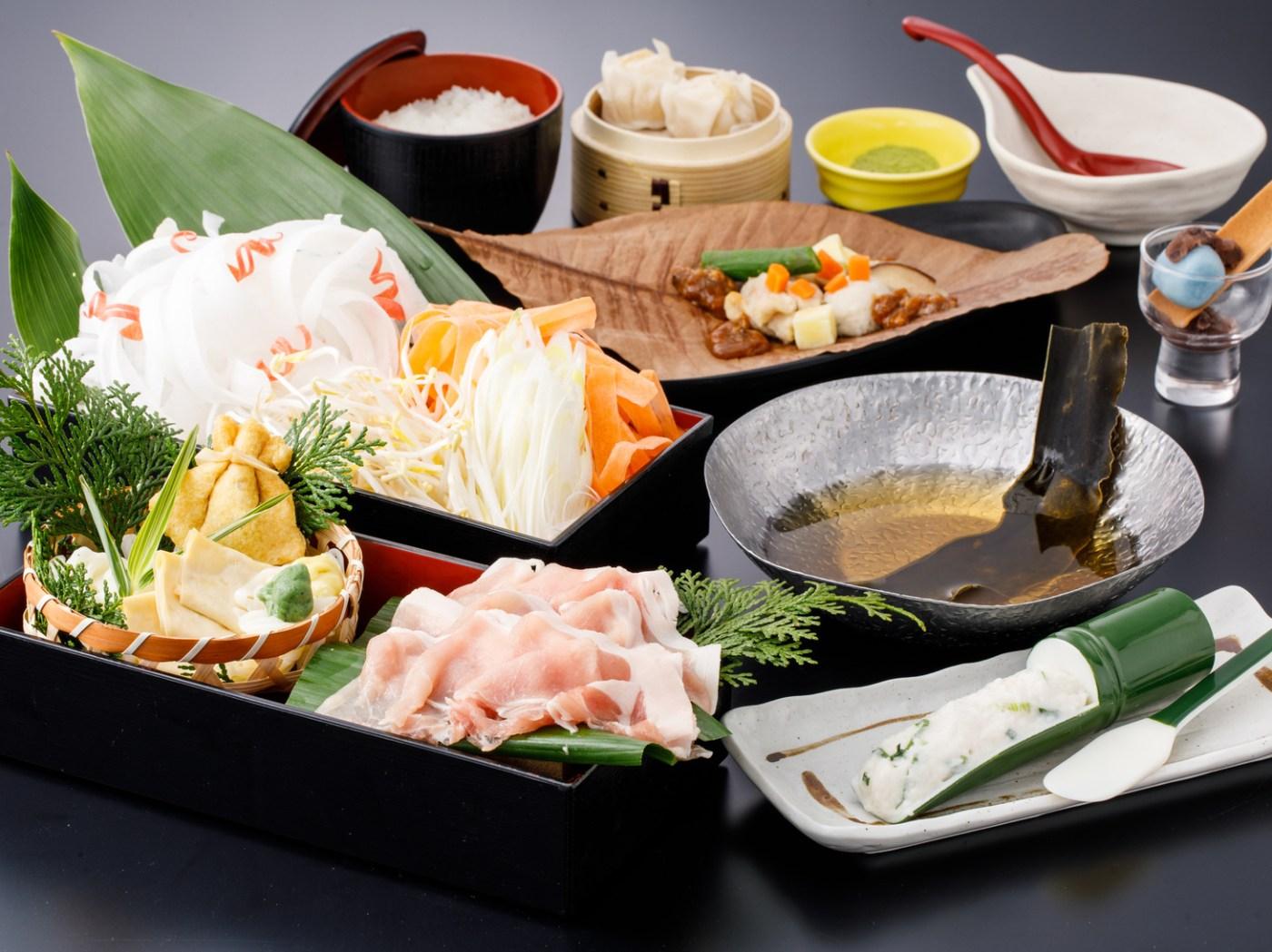 京野菜と牛肉のすき焼き御膳