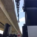 Ladekran LK500 Autobahnbrücke