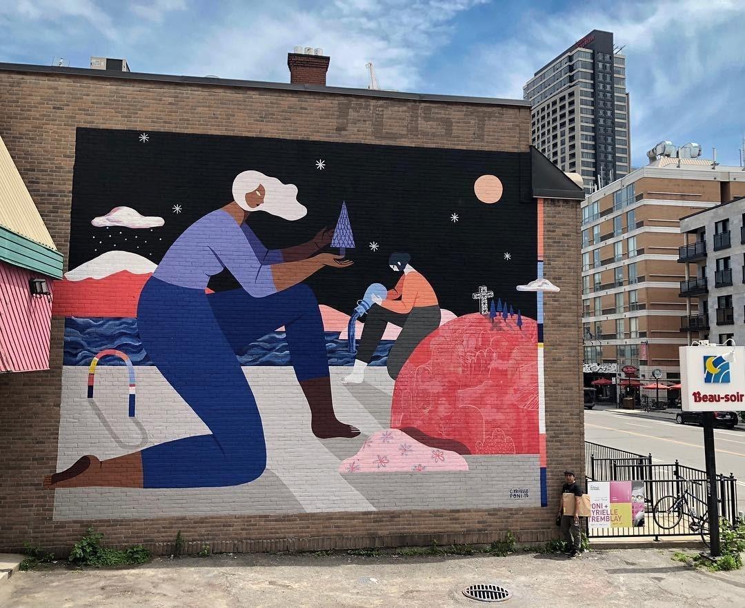 Les Murales de Montréal