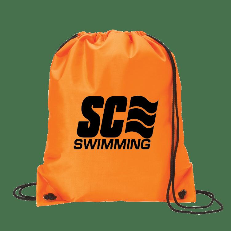 Customizable Drawstring Sports Bag with Logo