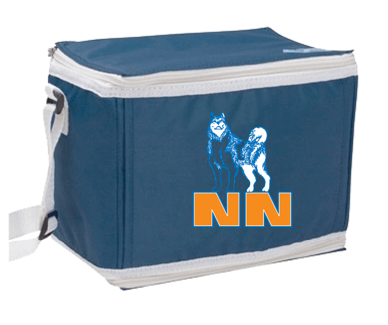 customizable cooler with zipper