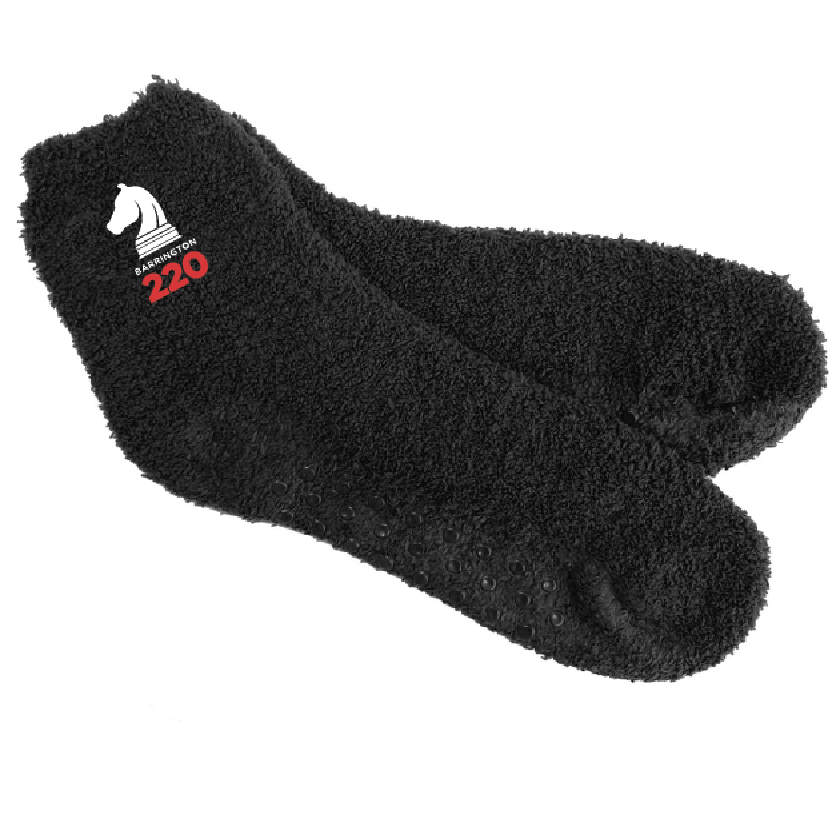 customizable black fuzzy socks
