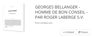 4. Georges Bellanger par R. Laberge